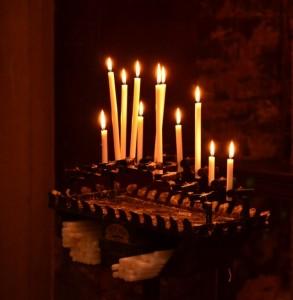 Candles at Basilica DI San Marco