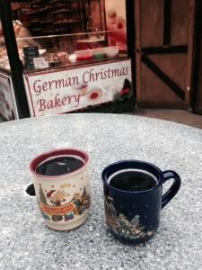 Gluwein at Christmas market in Leeds